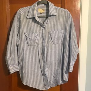 Elizabeth and James Button Down shirt